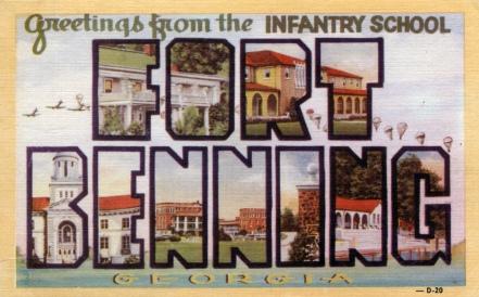 Fortbenningpostcard